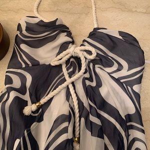 Milly Vintage Nautical Minidress